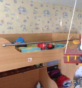 Детская стенка-кровать