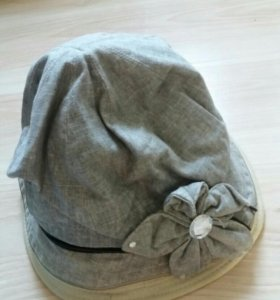 Шляпы женские лен натуральный