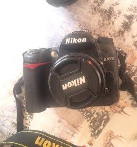 Nikon d7000 + 2 объектива
