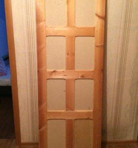 Двери деревянные 2 шт