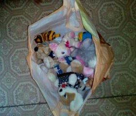 Пакет игрушек от маленьких до больших!