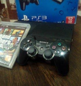 Продаю Sony Playstation 3 с 2 играми