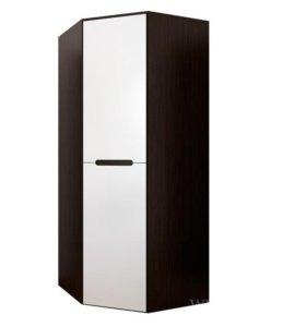 Вегас шкаф угловой из серии мебели Вегас белый глянец