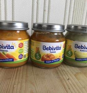 Детское овощное пюре Bebivita