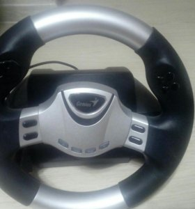 Руль,педали,коробка передачи Genius speed wheel rv