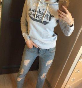 Толстовка hm Zara джинсы