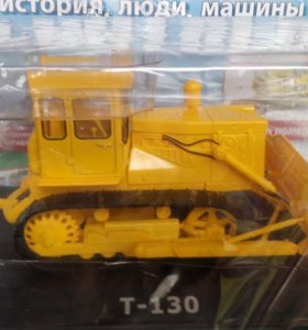 Трактор Т-130 Бульдозер (№59)