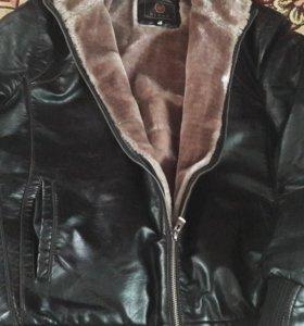 Куртка дубленки