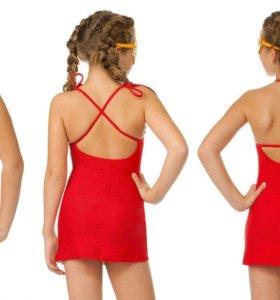 Пляжное платье детское новое