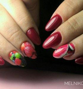 Маникюр,гель-лак(shellac), наращивание ногтей