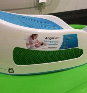 Лежачок-горка Angelcare + доска для пеленания