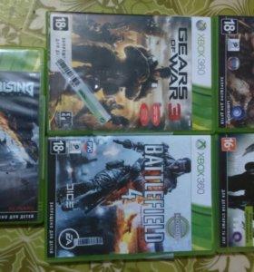 Лицензионные диски на Xbox360