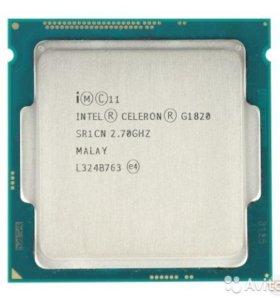 Процессор intel ceteron g1820 сокет LGA1150