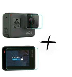Стекло+пленка на GoPro Hero 5