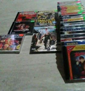24 игровых диска, 1 фильм, аудио караоке