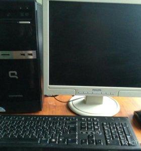 Компьютер hp compaq 500b mt