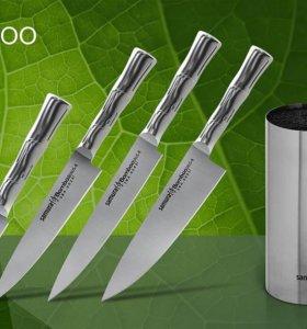 Samura Bamboo Набор кухонных ножей.
