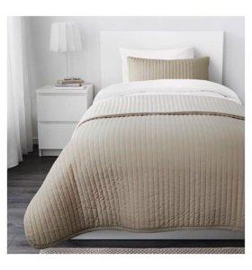 Покрывало и чехол на подушку ИКЕА