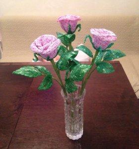 🔥🌹🎁Букет из трёх роз