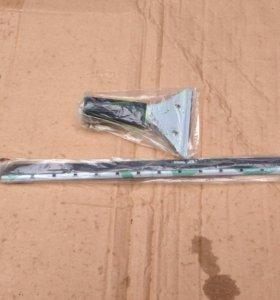 Инвентарь для мойки окон, стяжка/шубка с держателе