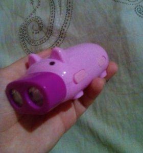 Фонарик (свинка)