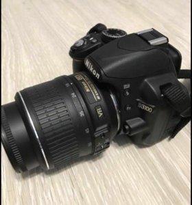 Продам зеркальный фотоаппарат Nikon-D3100