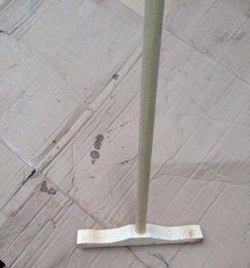 Щётка для подметания 50см, швабра деревянная,ведра