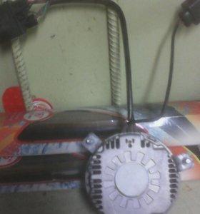 Мотор радиатора