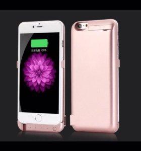 Чехол зарядка для айфона 6,6+,7