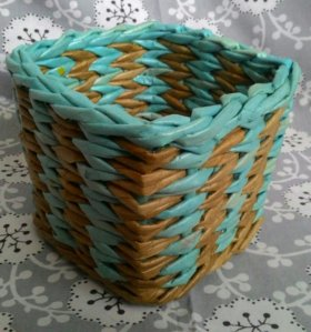 Коробки плетеные