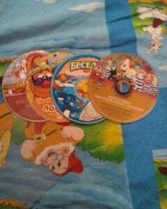 4 диска для детей