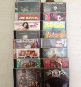 Диски MP3 и DVD