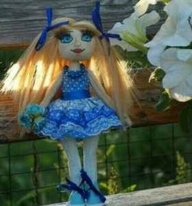 Текстильная кукла, кукла ручной работы