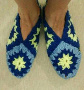 Мягкие тапочки-носочки для дома