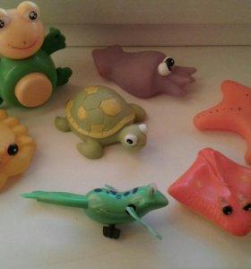 Отдам игрушки для ванны/пляжа