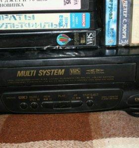 DVD с касетыми, рабочая