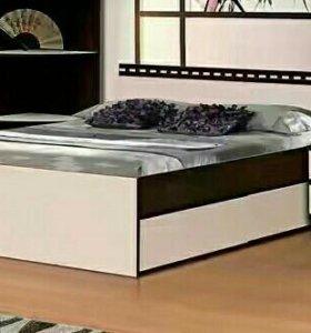Кровать двухспальная Ольга-13