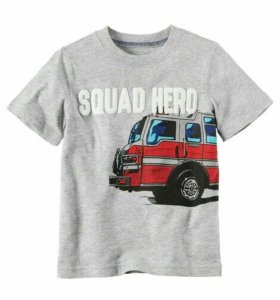 Новая футболка CARTERS (США)