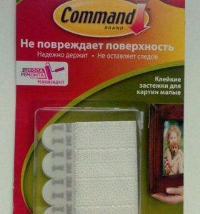 Крепления для картин (застёжки) Command (4 шт.)