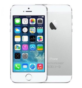 iPhone silver 5s 64 Gb