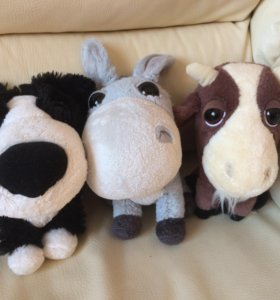 Щенок, ослик, еозлик