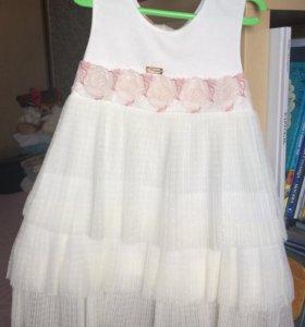 Нарядное платье для девочки 104 см