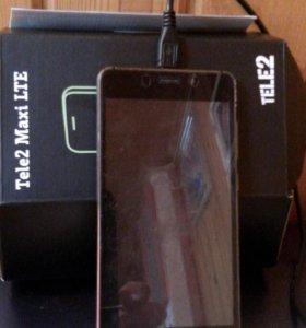 Смартфон Теле2 MAXI. Lte. MAXI! бу.