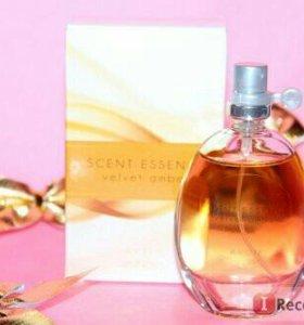 Новинка!!Туалетная вода scent essence velvet amber
