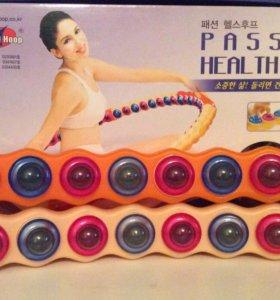 Обруч хулахуп для похудения Passion Health Hoop