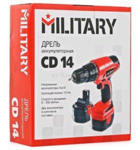 Шуруповерт Military CD14