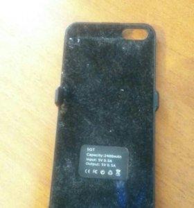 Чехол-зарядка Iphone 5,5$