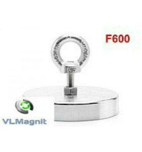 Поисковый магнит F600 сцепление 600 кг