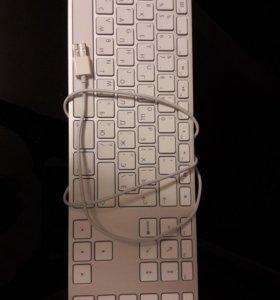 Клавиатура для Apple Mac, проводная