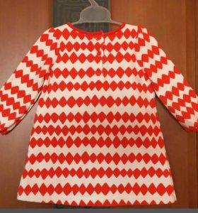 Платье с трусиками GYMBOREE на 1-1,5 г рост 74-79